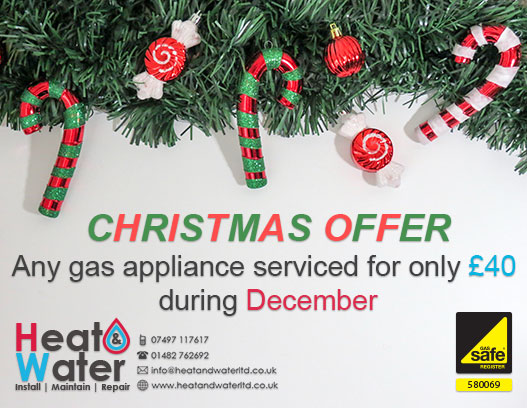 Gas servicing for only £40 December 2017